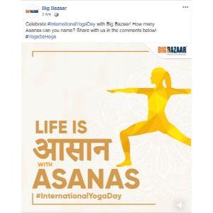 Yoga Day Post Big-Bazar 1