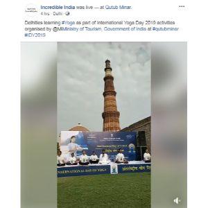 Yoga Day Post Incredible India 3