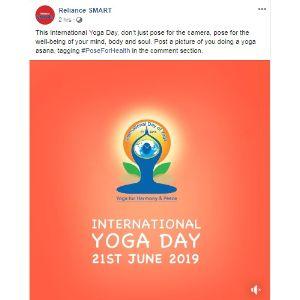 Reliance - Yoga Day Post-1