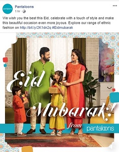 eid mubarak by pantaloons