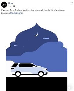eid mubarak by uber india