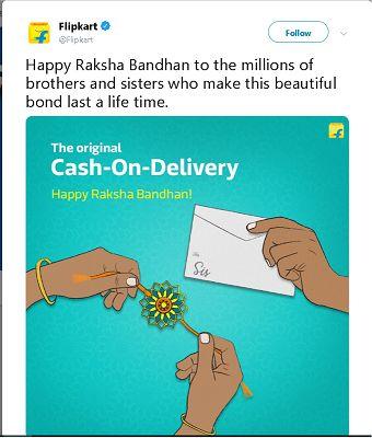 flipkart Raksha Bandhan Post - Digimanic