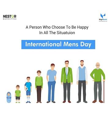 International Mens Day Post - Digimanic