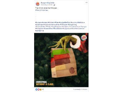 Burger King - Christmas Day 2019